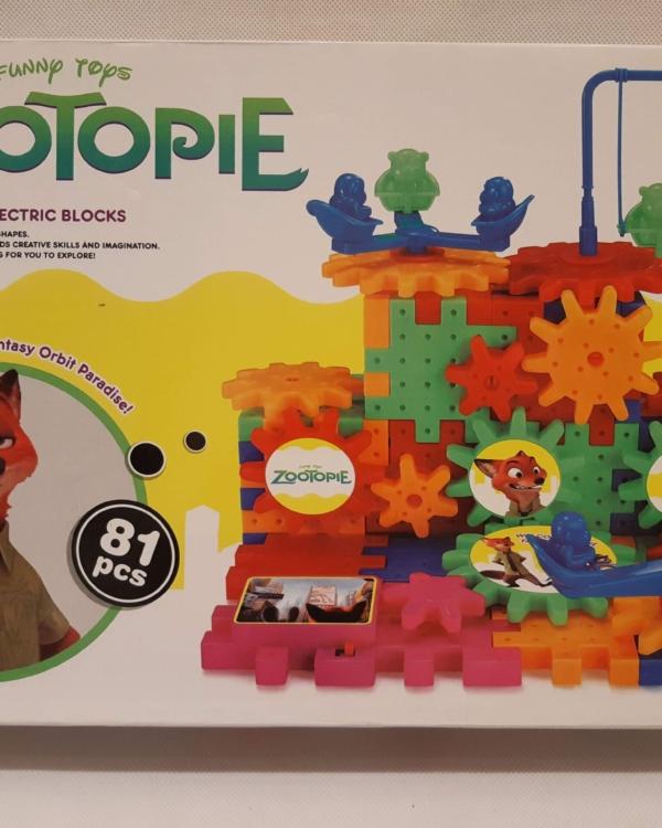 """Zootopie"" konstruktorid"