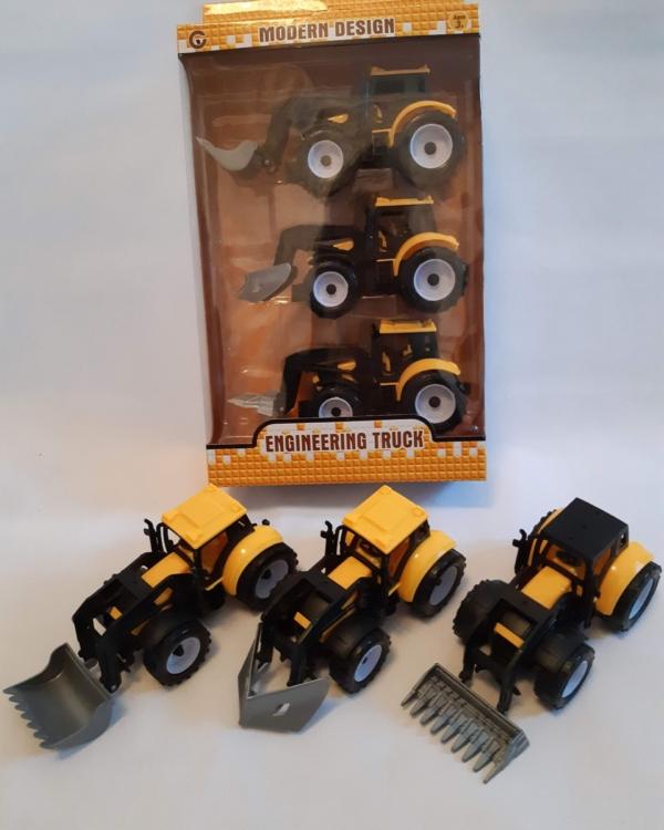 Kollased traktorid